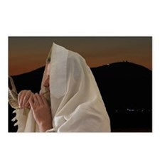 Rosh Hashana Shofar Meron Postcards (Package of 8)