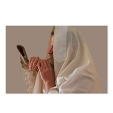 Shofar  Rosh Hashanah Postcards (Package of 8)
