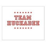 Team Huckabee Small Poster