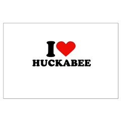 I Heart Huckabee Posters