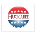 Huckabee Button Small Poster