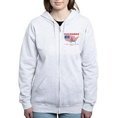 Mike Huckabee for President Women's Zip Hoodie
