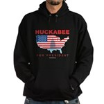 Mike Huckabee for President Hoodie (dark)