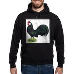 Rosecomb Rooster Hoodie (dark)