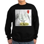 White Rooster Sweatshirt (dark)