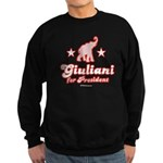 Giuliani for President Sweatshirt (dark)