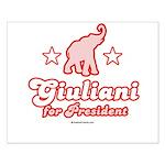 Giuliani for President Small Poster