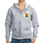 Golden Sex-link Hen Women's Zip Hoodie