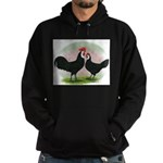 Whitefaced Spanish Chickens2 Hoodie (dark)