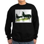 Black Sumatra Chickens Sweatshirt (dark)