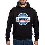Kucinich for President Hoodie (dark)