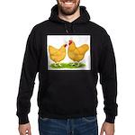Buff Wyandotte Chickens Hoodie (dark)