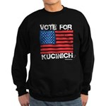Vote for Kucinich Sweatshirt (dark)
