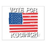 Vote for Kucinich Small Poster