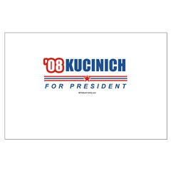 Kucinich 2008 Large Poster