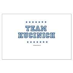 Team Kucinich Large Poster