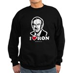 I Love Ron Paul Sweatshirt (dark)