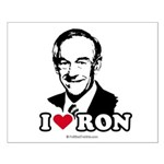I Love Ron Paul Small Poster