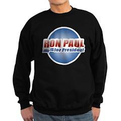 Ron Paul for President Sweatshirt (dark)