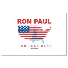 Ron Paul for President Large Poster