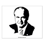 Fred Thompson Face Small Poster