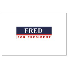 Fred Thompson for President Large Poster