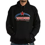 Thompson for President Hoodie (dark)