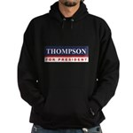 Fred Thompson for President Hoodie (dark)