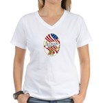 All I Want For Christmas Women's V-Neck T-Shirt