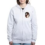 Jacobin Pigeon Women's Zip Hoodie