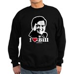 I Love Bill Richardson Sweatshirt (dark)