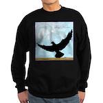 Pigeon Fly Home Sweatshirt (dark)