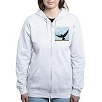Pigeon Fly Home Women's Zip Hoodie