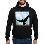 Pigeon Fly Home Hoodie (dark)