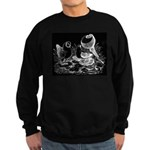 Etched Pigeon Trio Sweatshirt (dark)