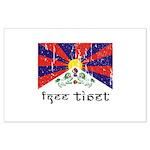 Free Tibet Large Poster