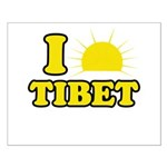 I Love Tibet Small Poster