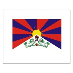 Flag of Tibet Small Poster