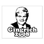 Gingrich 2008 Small Poster