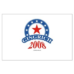 Gingrich 2008 Large Poster
