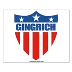 Gingrich Small Poster