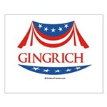 Newt Gingrich Small Poster
