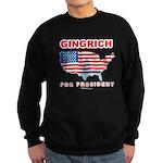 Gingrich for President Sweatshirt (dark)