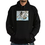 Flying Homer Pigeons Hoodie (dark)