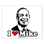 I Love Michael Bloomberg Small Poster