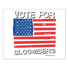 Vote for Bloomberg Small Poster