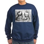 Norwich Cropper Pigeons Sweatshirt (dark)