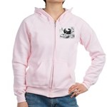 Holle Cropper Women's Zip Hoodie