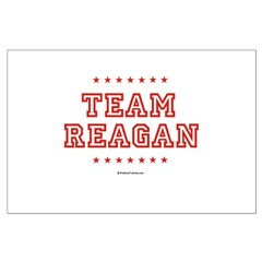 Team Reagan Large Poster