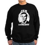 Jeb is my homeboy Sweatshirt (dark)
